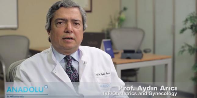 Prof.Dr.Aydın Arıcı- Anadolu Sağlık Merkezi