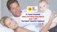 31 Ocak Adana da Anne – Baba Adayları Tüp bebek tedavilerini konuşacak