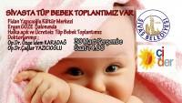 Sivas ÇİDER Tüp Bebek Toplantısı 30 Martta