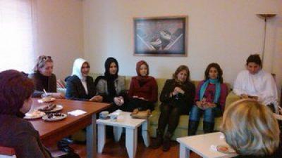 Ak Parti Kadın Kolları İlçe Başkanları ile Derneğimizde Aydınlatıcı bir toplantı