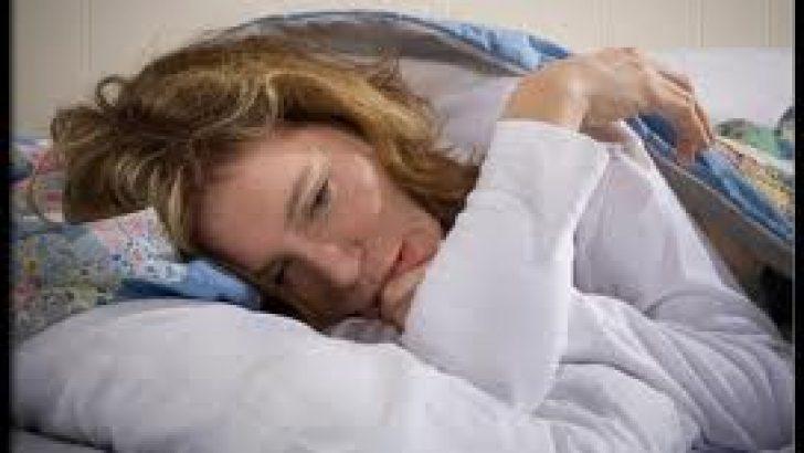 Dikkat !..Uyku düzeninizin bozulması sizde kısırlık yapabilir.