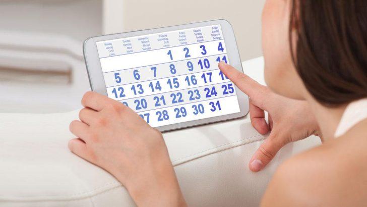 Kadında Adet -Regl  Dönemi – Menstrual Siklus nedir ?