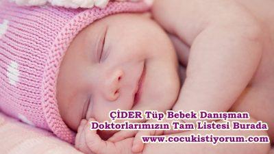 Tüp Bebek Tedavileri ÇİDER Danışman Doktorları Tam Liste