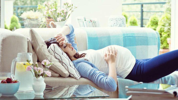Hamilelikte Üçüncü Üç Aylık Dönemde Baş dönmesi