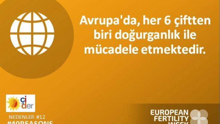 """Fertility Europe , Avrupa Doğurganlık Haftası'nda """"Doğurganlığı"""" Avrupa'nın gündemine getirmeye çağırıyor."""
