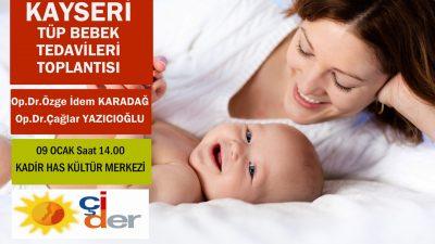 09 Ocak ÇİDER Kayseri Tüp Bebek Toplantısı