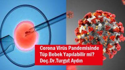 Coronavirüs Pandemisinde tüp bebek yapılabilir mi?