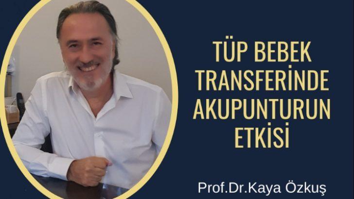 Tüp Bebek Transferlerinde Akupunkturun Etkisi